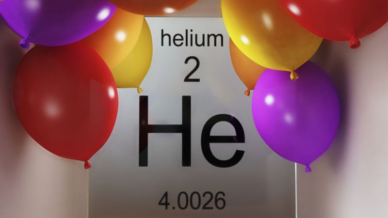 گاز هلیوم چند اتمی است ؟